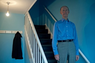 """Re-Pete"" - Tobiolo captures the life of her fascinating neighbour: a man inexplicably drawn to the colour blue and regimented routine. Giorgia Tobiolo"