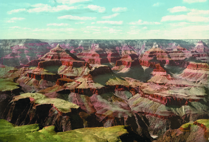 Grand Canyon, view from O'Neill's Point, Arizona, photochrom.