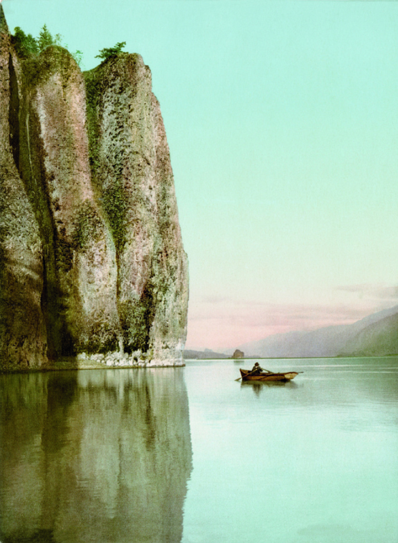 Cape Horn, Columbia River, photochrom.