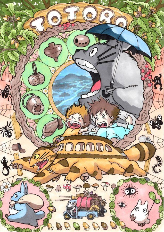 Ny Neighbor Totoro-Η γειτονιά του δάσους:Οι περιπέτεις του Totoro