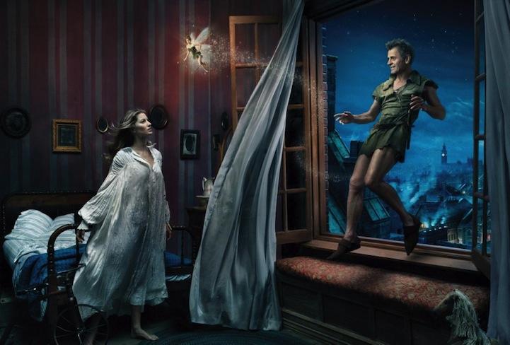 Mikhail Baryshnikov, Gisele Bundchen, and Tina Fey from Peter Pan