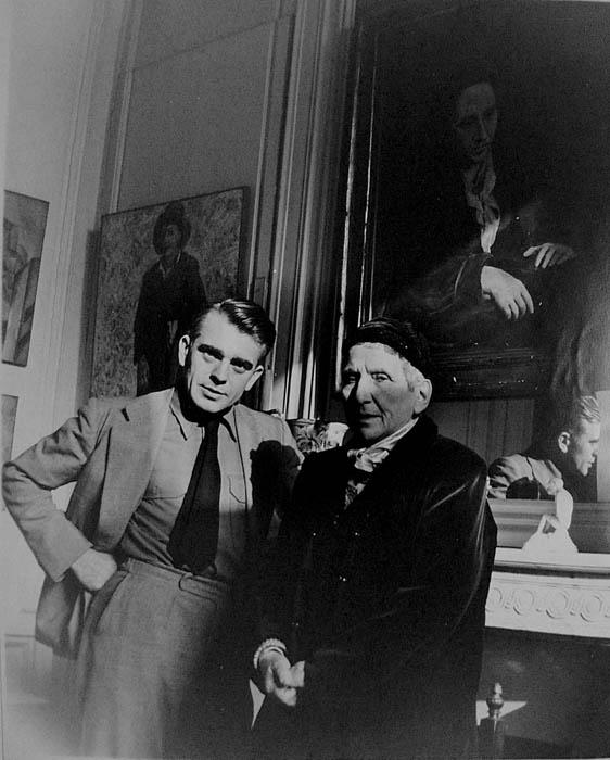 H Gertrude Stein δίπλα στον Πικάσο