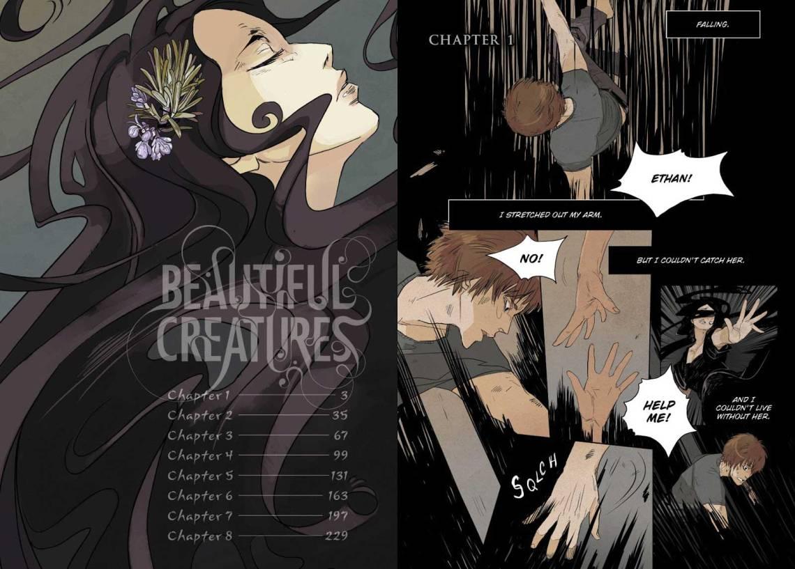 Το Beautiful Creatures κυκλοφόρησε και σε graphic novel,