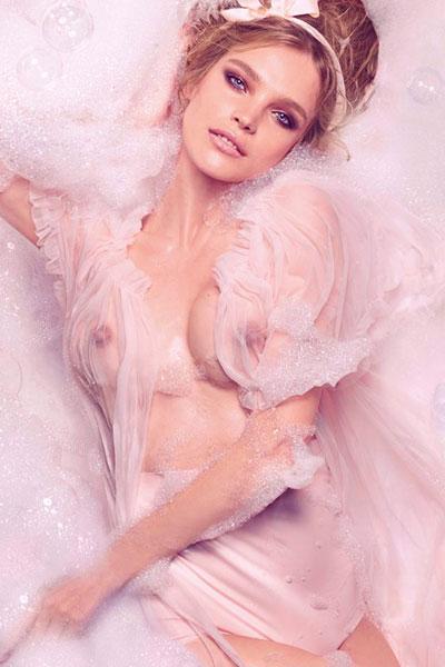 Η περσινή φωτογράφιση της Vodianova. (επίσης ωραία)