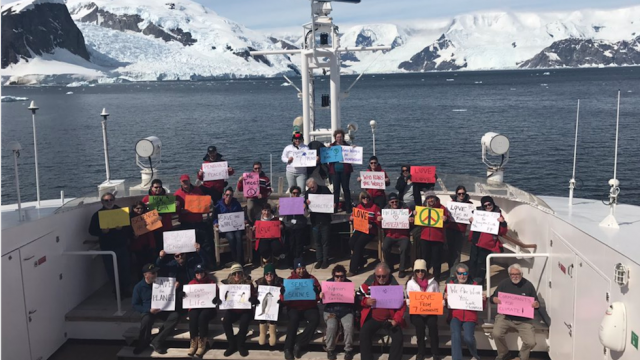 Women's March: Antarctica!