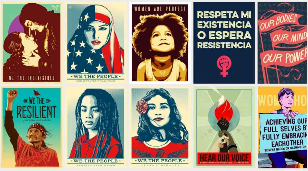 Women's March: Posters